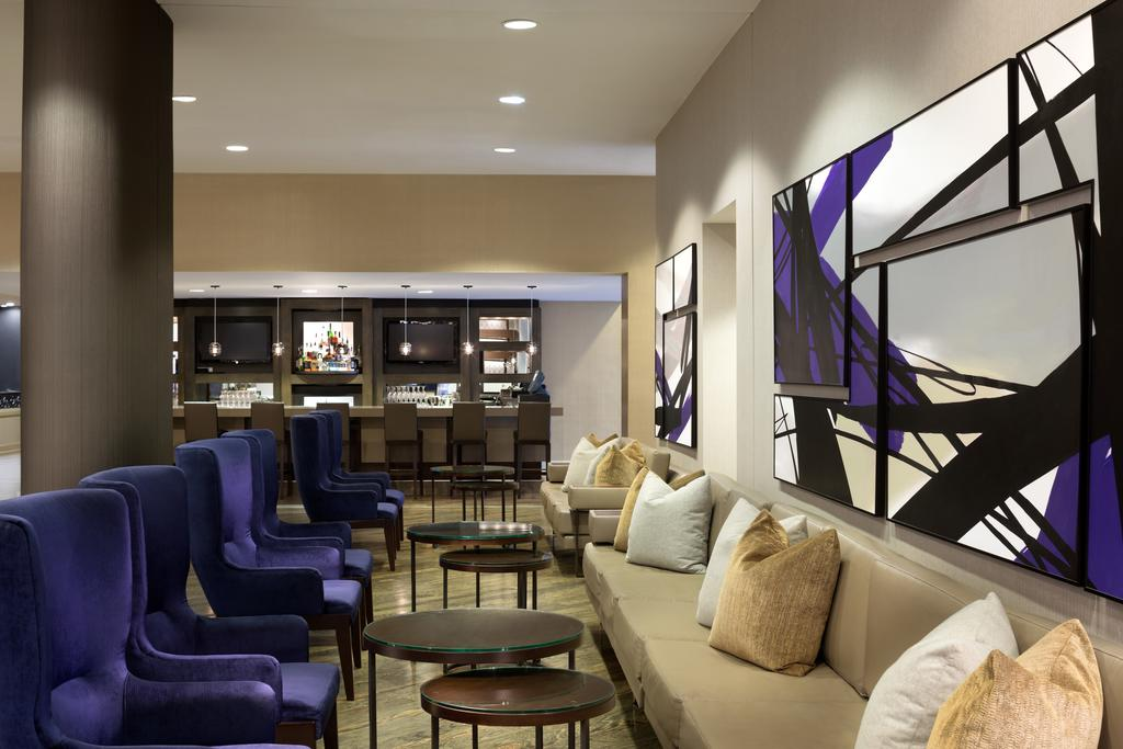 DoubleTree Hilton Hotel Dallas – Market Centre-Reception